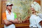 Singapur von seiner süßesten Seite: Adrian Sutil im Gespräch mit Rockstar Gwen Stefani von No Doubt