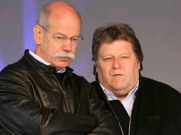 Norbert Haug und Dieter Zetsche