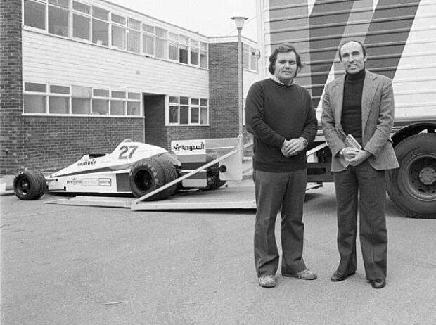 Patrick Head und Frank Williams