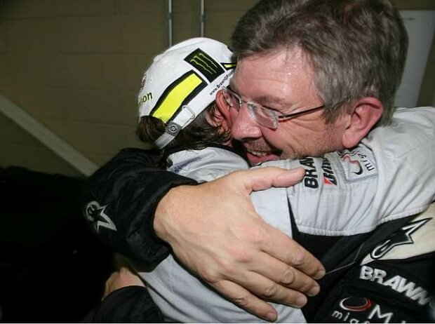Jenson Button und Ross Brawn
