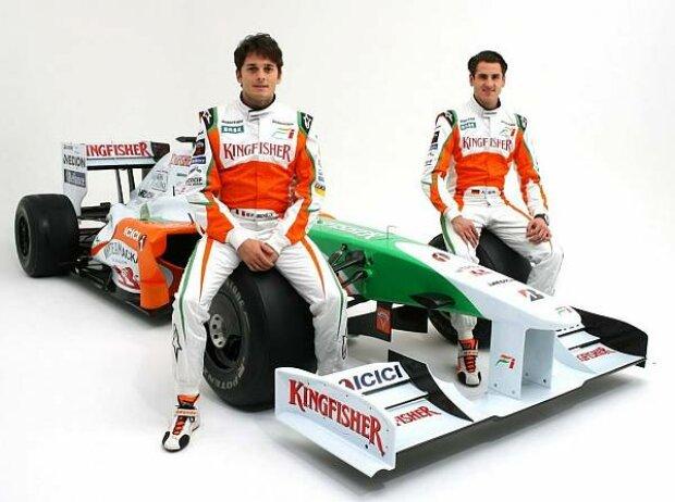 Giancarlo Fisichella, Adrian Sutil, Silverstone, Grand Prix Circuit Silverstone