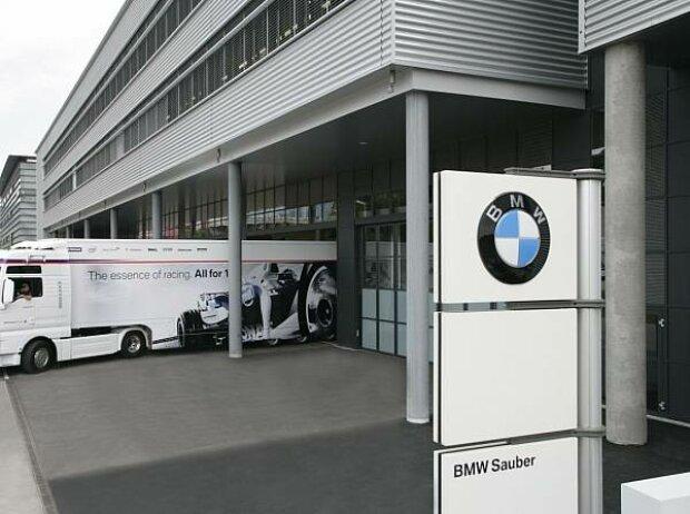 Formel-1-Fabrik in Hinwil