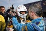 Gabriele Tarquini (SEAT) und Alain Menu (Chevrolet)