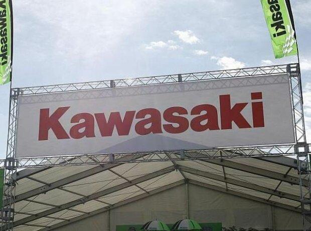 Kawasaki-Fahne