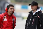 Robert Kubica (Renault) zu Besuch bei Ferrari