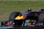 Daniel Ricciardo (Red Bull) mit Aerosensor - diesmal ohne Drahtseile...