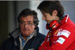 Giancarlo Minardi zu Besuch bei Ferrari