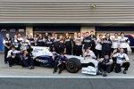 Letztes Gruppenfoto: Abschied vom BMW Sauber F1 Team
