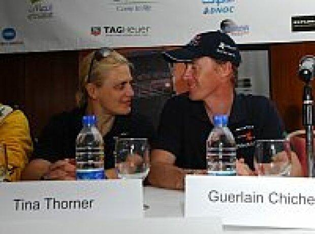 Tina Thörner, Guerlain Chicherit