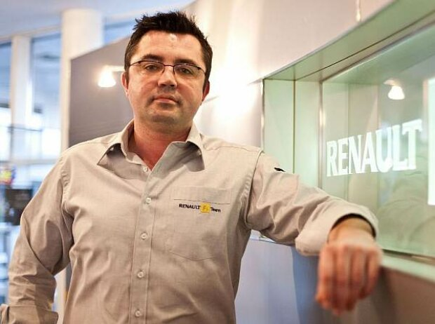 Eric Boullier; Renault-Teamchef
