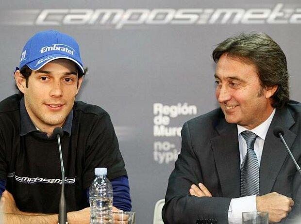 Bruno Senna und Adrian Campos