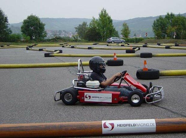 Sven Heidfeld mobile Kartbahn