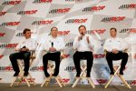 Clint Bowyer, Kevin Harvick, Richard Childress und Jeff Burton