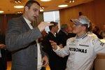 Vitali Klitschko und Michael Schumacher (Mercedes)