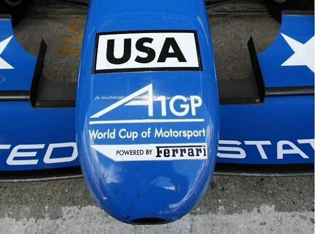 A1GP-Logo beim Team USA