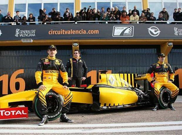 Präsentation des Renault R30