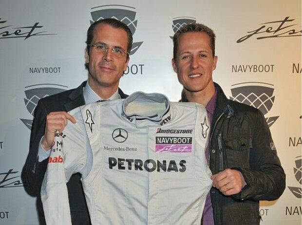Philippe Gaydoul und Michael Schumacher