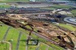 Luftaufnahme von Silverstone