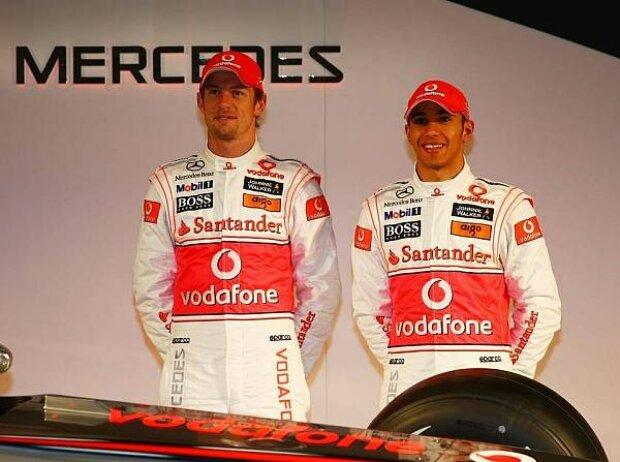 Jenson Button, Lewis Hamilton