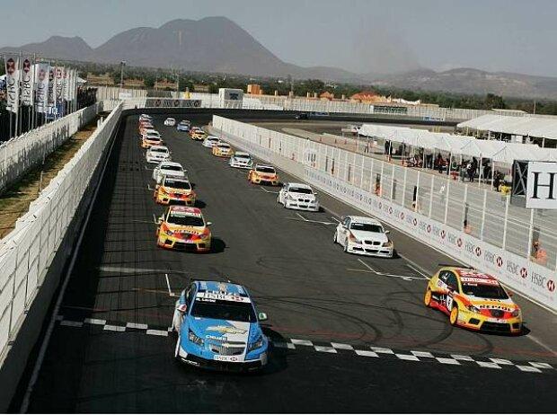 WTCC Start in Puebla