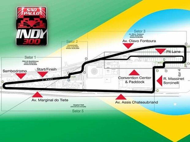 Strecke Sao Paolo
