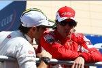Jarno Trulli (Lotus) und Fernando Alonso (Ferrari)