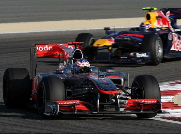 Mark Webber, Jenson Button