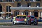 Marc Lieb, Patrick Long und Jörg Bergmeister (Flying Lizard Porsche)