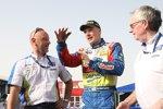 Jari-Matti Latvala (Ford) Gerard Quinn (Ford-Sportchef)