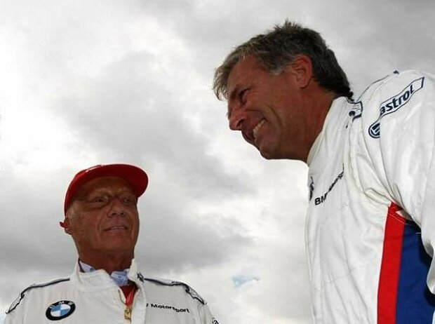 Niki Lauda und Christian Danner