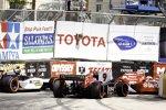 Alex Tagliani, Marco Andretti und Scott Dixon