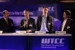 Osama Hirzalla (Marriott), Fredrik Ulfsater (Eurosport), Ulrich Lacher (IFM Institut) und Farid Al-Samarrai (Yokohama)