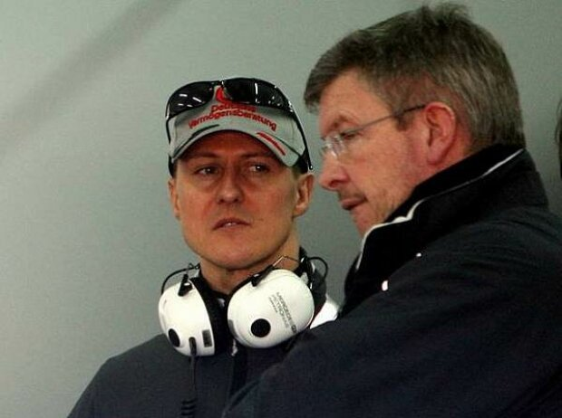Ross Brawn (Teamchef), Michael Schumacher
