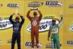 Scott Dixon (Ganassi) Tony Kanaan (Andretti) Dario Franchitti (Ganassi)