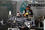 Auto von Michael Schumacher (Mercedes)