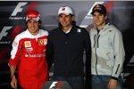 Spanier unter sich: Alonso, Alguersuari und de la Rosa