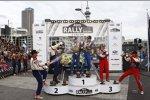 Jari-Matti Latvala (Ford) Sébastien Loeb (Citroen) Sébastien Ogier (Citroen Junior Team)