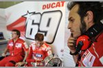 Teammanager Vittoriano Guareschi (Ducati)