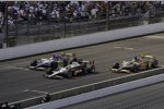 Will Power (Penske) vor Mike Conway und Ana Beatriz (Dreyer and Reinbold)