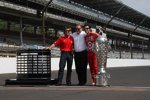 Jamie McMurray, Chip Ganassi und Dario Franchitti