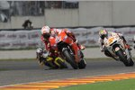 Casey Stoner (Ducati) und Marco Melandri (Gresini)