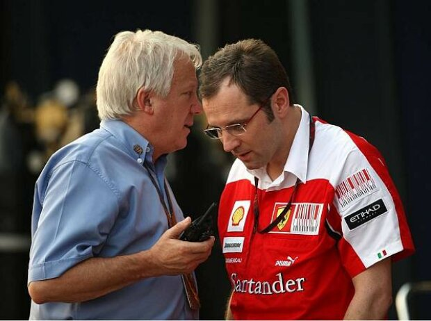 Charlie Whiting und Stefano Domenicali