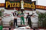 IndyCar-Podium in Iowa