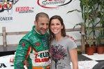 Tony Kanaan und Frau