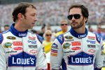 Jimmie Johnson (Hendrick) und Chad Knaus