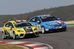 Tiago Monteiro (SR) und Yvan Muller (Chevrolet)
