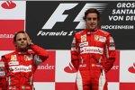 Felipe Massa (Ferrari) Fernando Alonso (Ferrari)