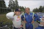 Kimi Räikkönen und  Juha Kankkunen