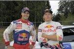 Daniel Sordo (Citroen) und Kimi Räikkönen