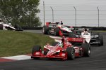 Ryan Briscoe (Penske) Will Power (Penske) Dario Franchitti (Ganassi)